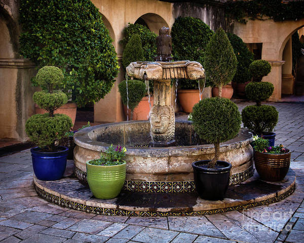Photograph - The Fountain At Tlaquepaque by Jon Burch Photography