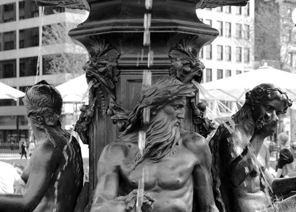 Photograph - The Fountain by Christopher Brown