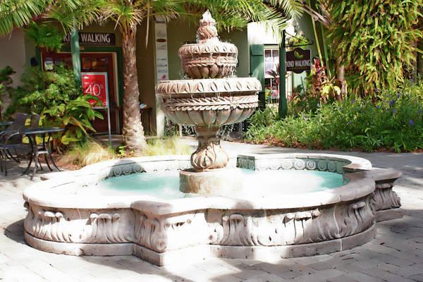 Photograph - The Fountain by Gina O'Brien