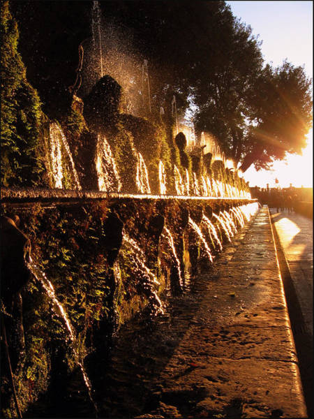 Photograph - The Fountains Of Villa D'este by Jessica Tabora