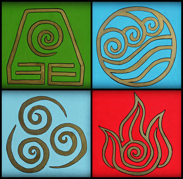 Photograph - The Four Elements by Cyryn Fyrcyd