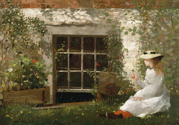 Wall Art - Painting - The Four  by Winslow Homer