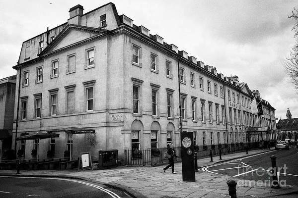Wall Art - Photograph - The Francis Hotel Bath England Uk by Joe Fox