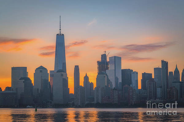 Nine Eleven Photograph - The Freedom Tower by Michael Ver Sprill