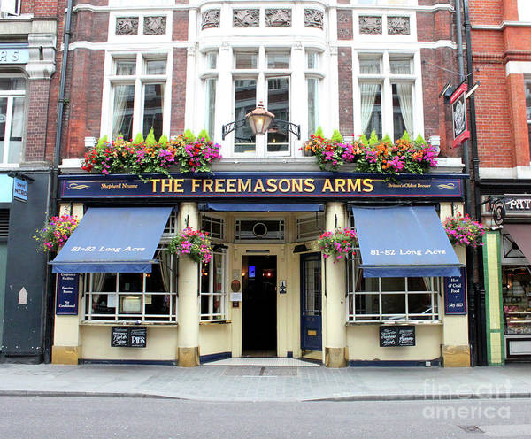 Photograph - The Freemasons Arms Pub - Doc Braham - All Rights Reserved. by Doc Braham