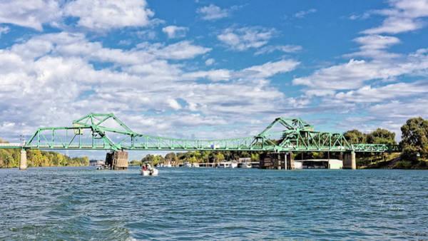 Photograph - The Freeport Bridge by Jim Thompson