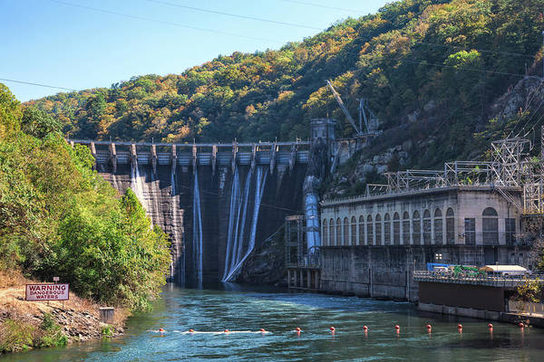 Photograph - The Fugitive Dam by John M Bailey