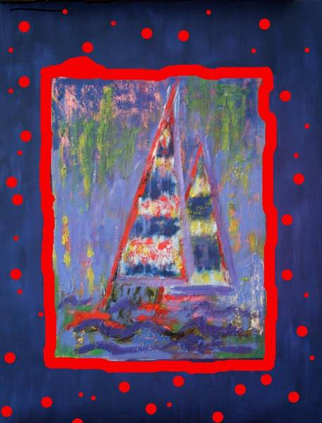 Painting - The Fun Of Sailing by Karin Eisermann