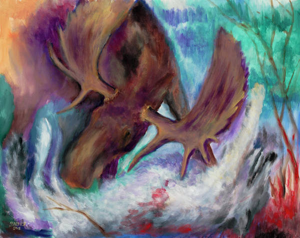 Painting - The Fury by Joe Baltich