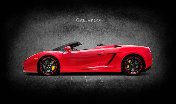 Super Cars Photograph - The Gallardo by Mark Rogan