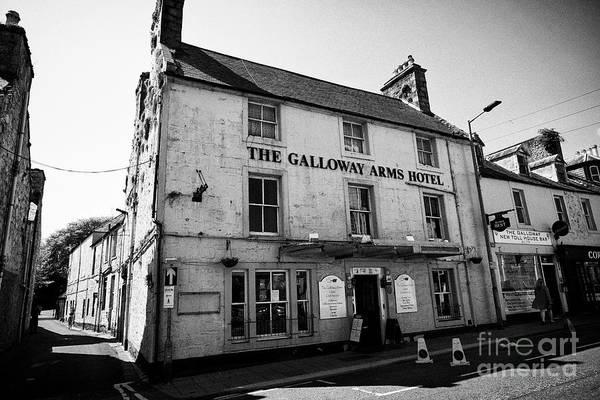 Wall Art - Photograph - The Galloway Arms Hotel Victoria Street Newton Stewart Dumfries And Galloway Scotland Uk by Joe Fox
