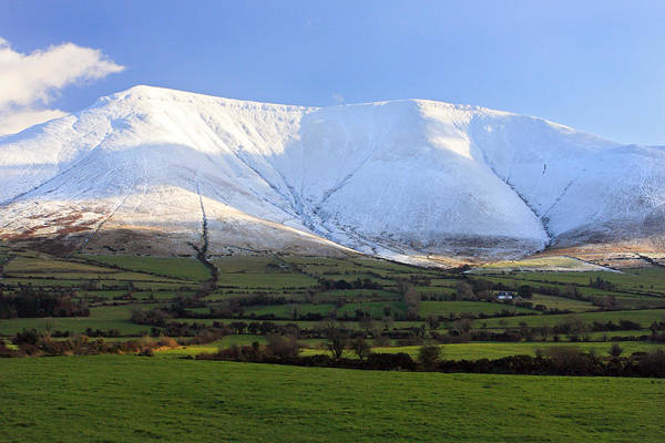 The Galtees  Ireland's Tallest Inland Mountains Art Print by Pierre Leclerc Photography