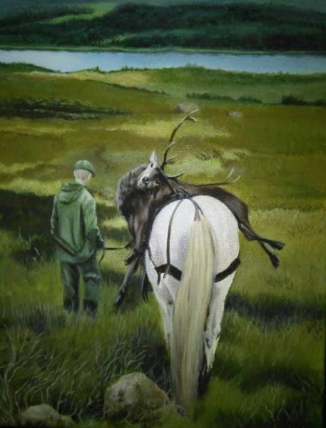 Painting - The Gamekeeper by Caroline Philp
