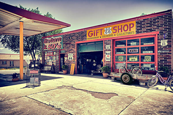 Photograph - The Garage by Radek Spanninger