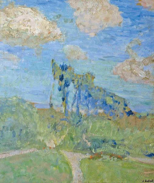 Painting - The Garden At Amfreville by Edouard Vuillard