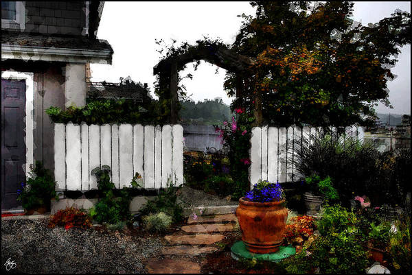 Photograph - The Garden Entry by Wayne King