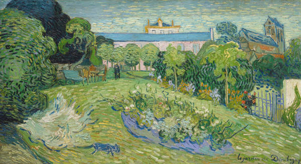 Vincent Van Gogh Painting - The Garden Of Daubigny by Vincent van Gogh