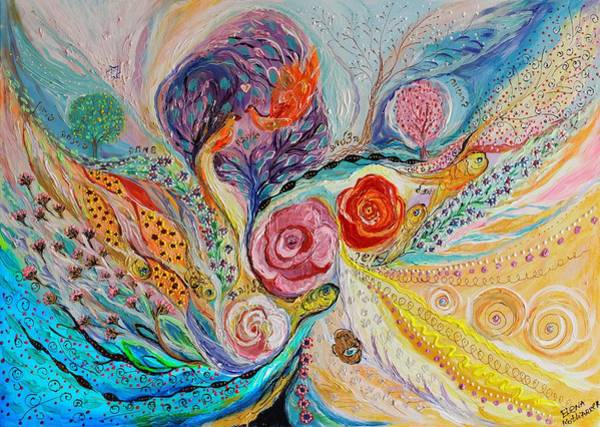 Wall Art - Painting - The Garden Of Dreams by Elena Kotliarker