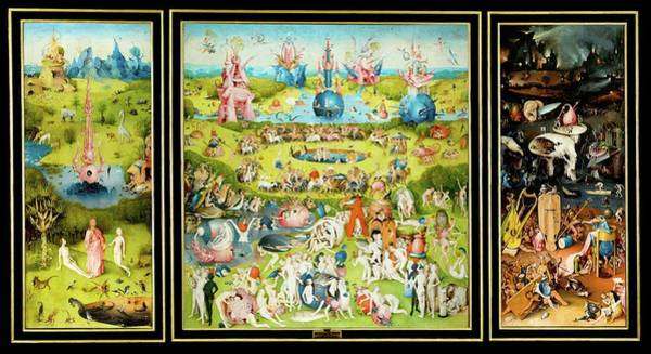 Painting - The Garden Of Earthly Delights  by Movie Poster Prints