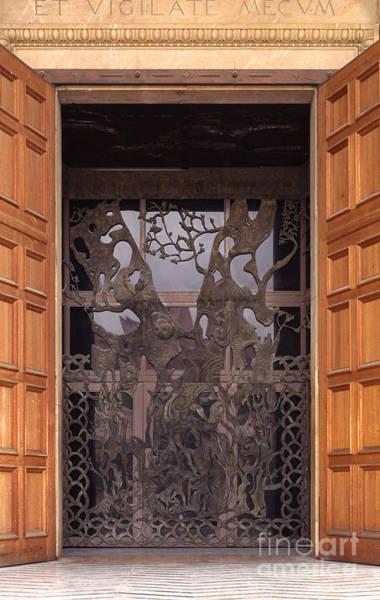 Wall Art - Photograph - The Garden Of Gethsemane Church Doors by Thomas R Fletcher
