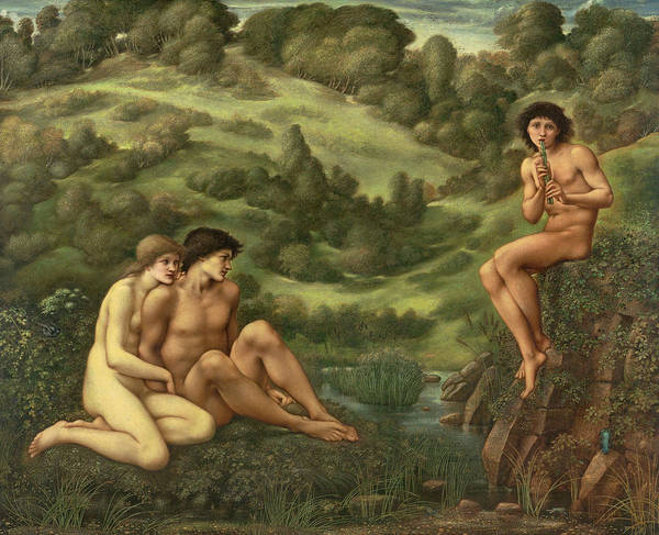 Wall Art - Painting - The Garden Of Pan by Sir Edward Coley Burne-Jones
