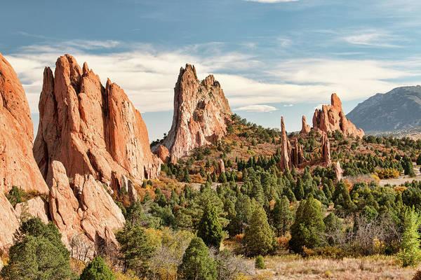 Photograph - The Garden Of The Gods - Colorado by Kristia Adams