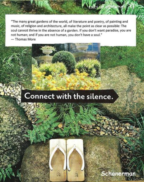Mixed Media - The Garden Of The Soul by Susan Schanerman