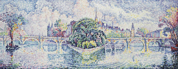 Royal Street Painting - The Garden Of Vert by Paul Signac