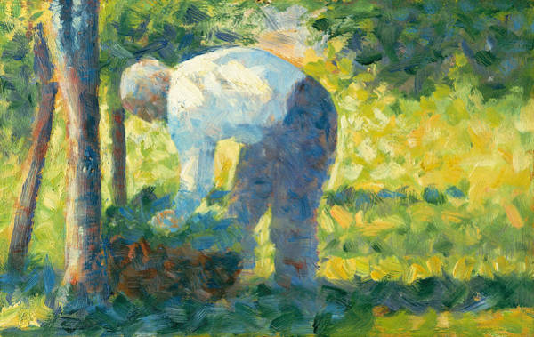 Painting - The Gardener by Georges-Pierre Seurat