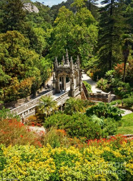 Knights Templar Photograph - The Gardens Of Quinta Da Regaleira by Mary Machare