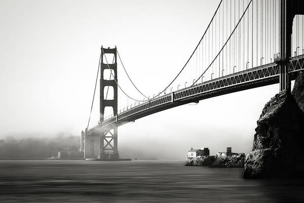 Wall Art - Photograph - The Gate Bridge by Eduard Moldoveanu