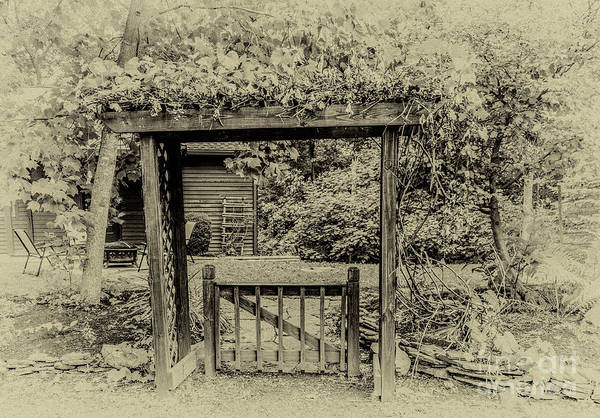 Photograph - The Gate by William Norton