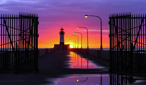 Wall Art - Photograph - The Gates Of Dawn by Mary Amerman