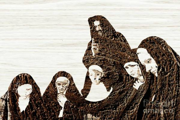 Wall Art - Digital Art - The Gathering For Prayer by Pierre Blanchard