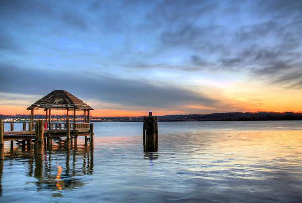 Potomac River Photograph - The Gazebo  by JC Findley