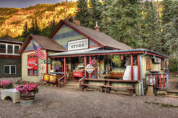 Photograph - The General Store by Ryan Smith