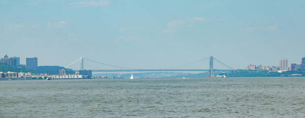 Wall Art - Photograph - The George Washington Bridge - New York - New Jersey by Bill Cannon