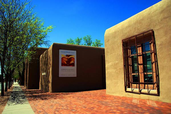 Photograph - The Georgia O'keeffe Museum In Santa Fe by Susanne Van Hulst