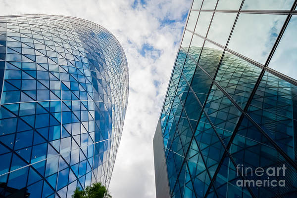 Photograph - The Gherkin, London by Colin Rayner