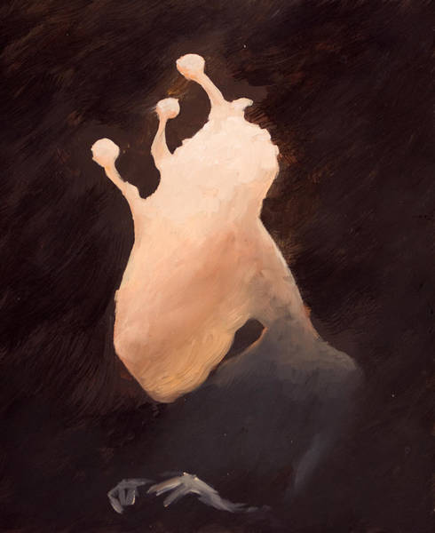 Wall Art - Painting - The Ghost Of Brackish Lake by Ethan Harris