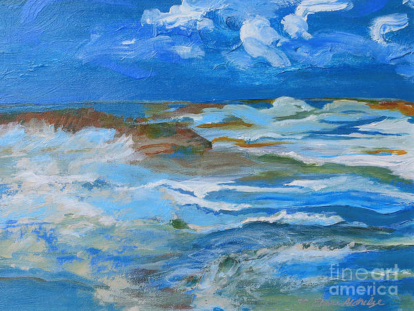 Gulf Shores Alabama Painting - The Gift  by Laura Aldridge