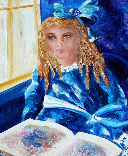 Painting - The Gift Of Imagination by Claire Bull