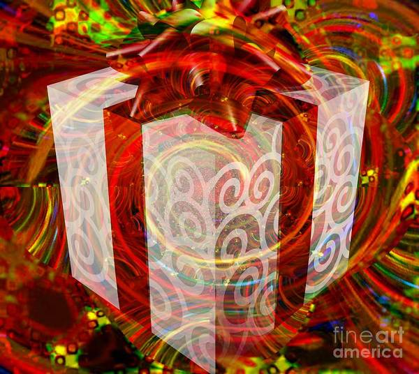 Description Digital Art - The Gift Of Passion by Fania Simon