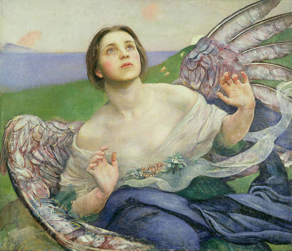 Wall Art - Painting - The Gift Of Sight by Annie Louisa Swynnerton