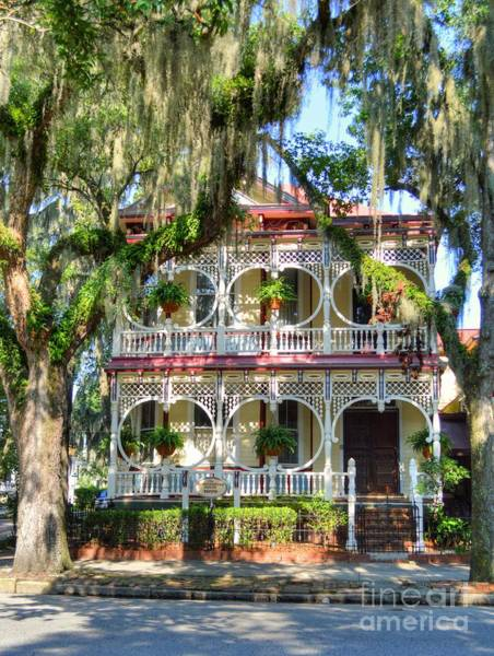 Wall Art - Photograph - The Gingerbread House by Linda Covino