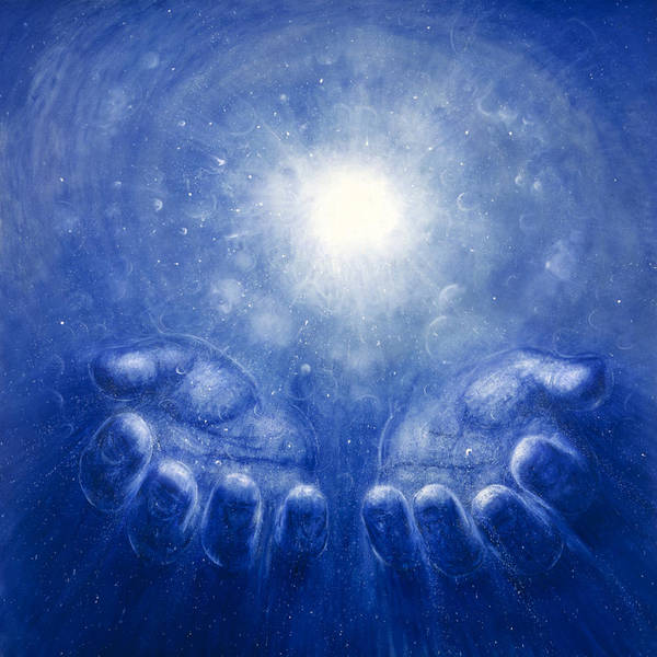 Energy Painting - The Giving by De Es Schwertberger