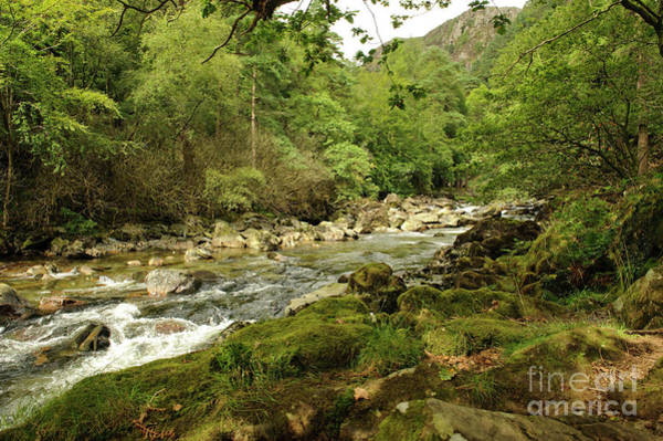 Photograph - The Glaslyn River Near Beddgelert, by Keith Morris