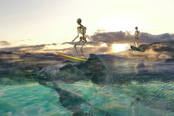 Wall Art - Digital Art - The Glass Ocean by Betsy Knapp