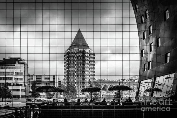 Wall Art - Photograph - The Glass Windows Of The Market Hall In Rotterdam by RicardMN Photography