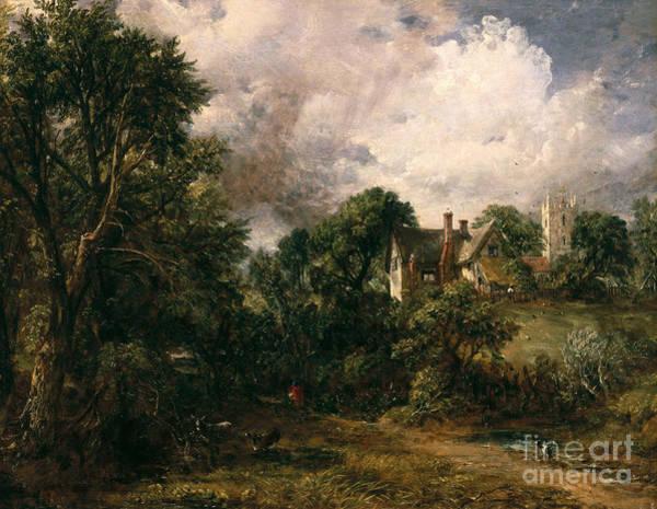 Donkey Painting - The Glebe Farm by John Constable